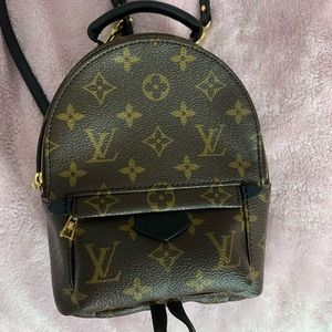 NEW Louis Vuitton Mini Palm Springs backpack